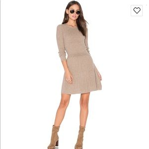 NWOT Joie Peronne dress in heather coffee